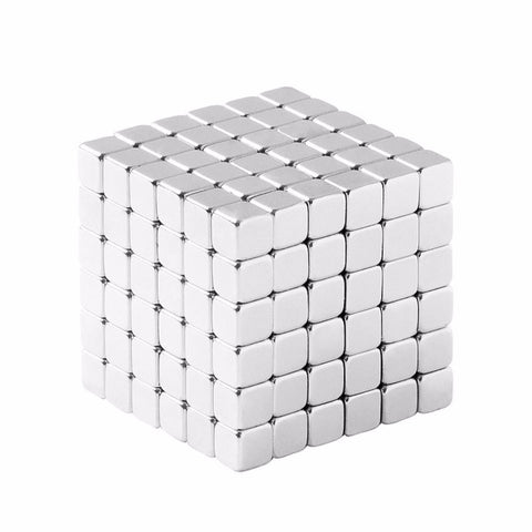 totalElement 1/8 Inch Neodymium Rare Earth Cube Magnets N48 (216 Pack)