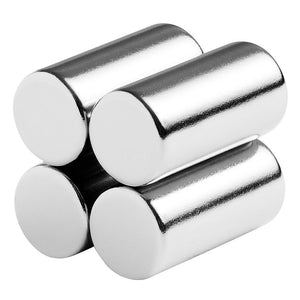 1/2 x 1 Inch Neodymium Rare Earth Cylinder/Rod Magnets N42 (4 Pack)