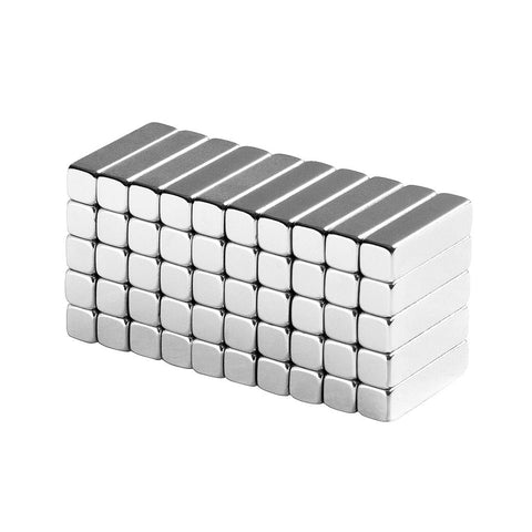 totalElement 1/2 x 1/8 x 1/8 inch Neodymium Rare Earth Bar Magnets N48 (50 Pack)