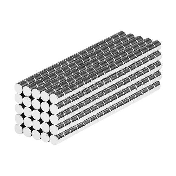 1/16 x 1/16 Inch Neodymium Rare Earth Cylinder Magnets N48 (400 Pack)