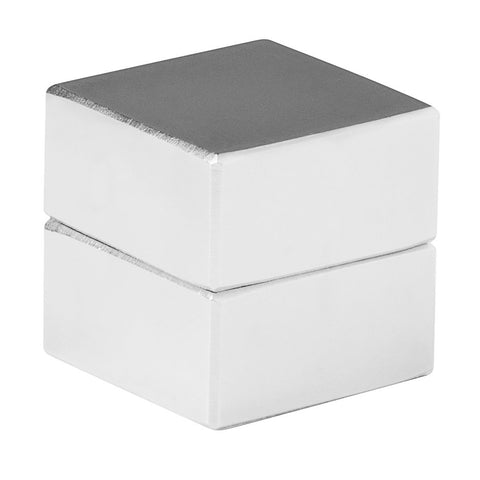 1 x 1 x 1/2 Inch Neodymium Rare Earth Large Block Magnets N48 (2 Pack)
