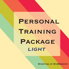 Personal Training Package Light