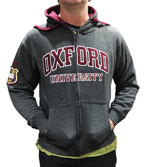 Oxford University Zip Hoodie