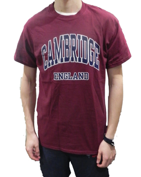 Cambridge England T-shirt - T-shirt from the Famous City of Cambridge, England