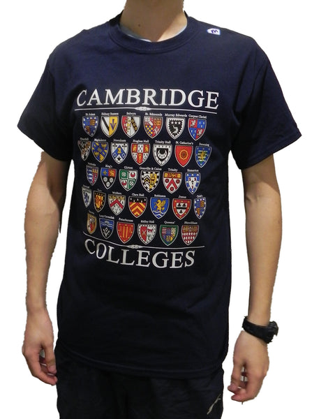 Cambridge College T-Shirt - Colleges from the World Famous city of Cambridge,...