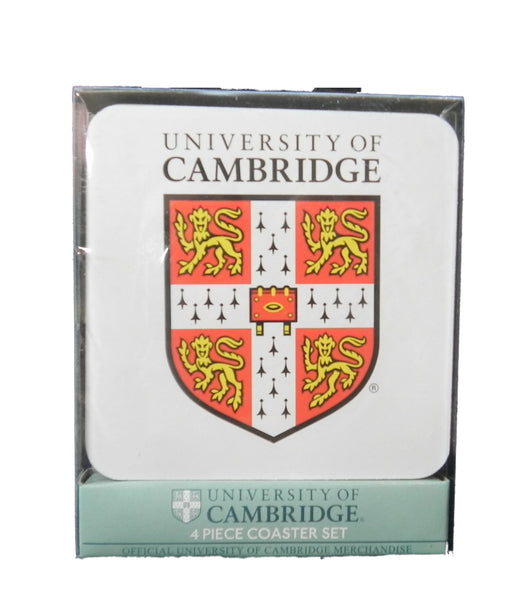 Cambridge Univeristy Coaster Set - Official Cambridge University Coasters - 4...