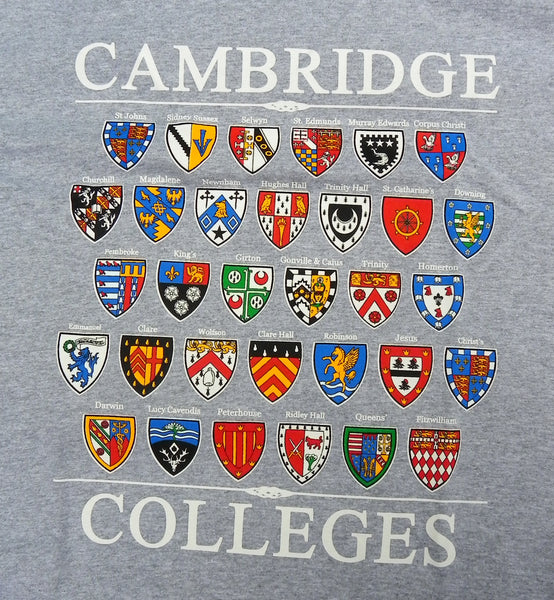 Cambridge College T-Shirt - 剑桥学院徽章T恤