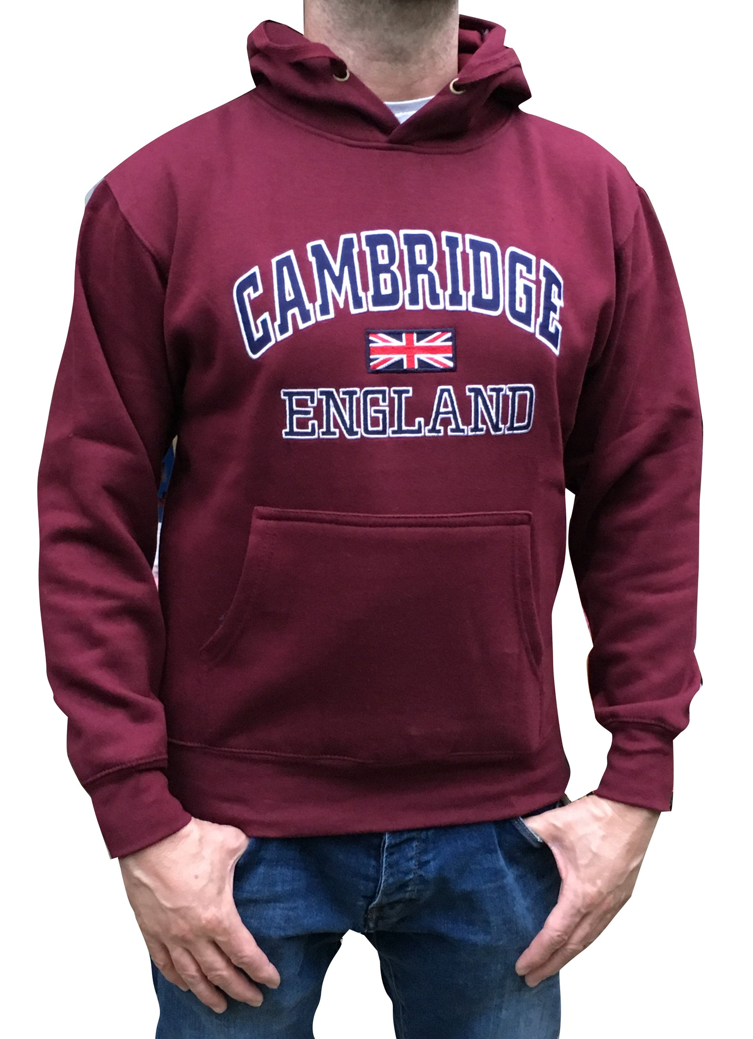 Cambridge England Hoody - Hoody from the Famous City of Cambridge