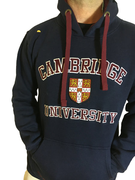 Official Cambridge University Hoody - Official Apparel of the Famous Univeristy of Cambridge