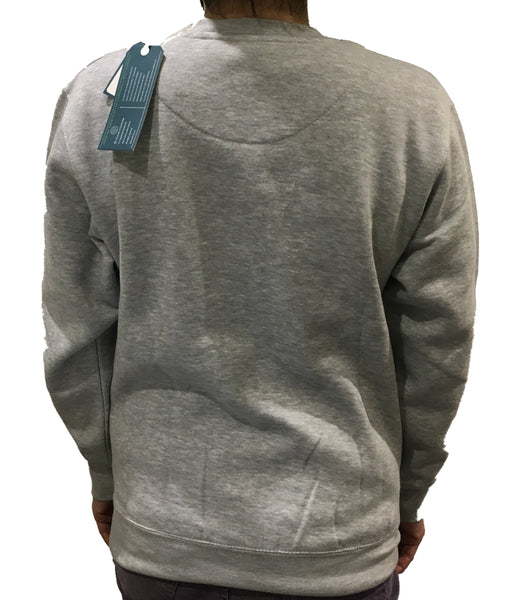 Cambridge University Embroidered Sweatshirt - Grey - Official Apparel of the Famous University of Cambridge