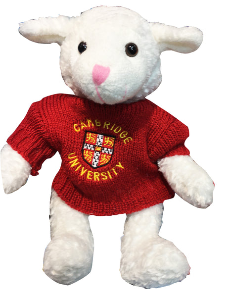 Cambridge University Plush Toy - Larry Lamb with Cambridge University Sweater - Official Licenced product