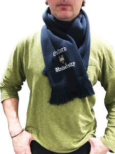 Oxford University Scarf - Navy - Official Licenced Merchandise