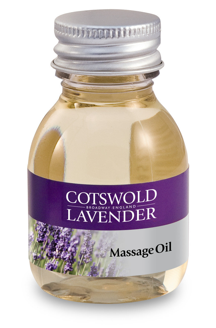Massage Oil - Soothe and Relax tired muscles .. Natural Lavender Cotswold