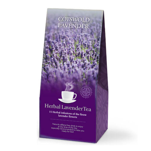 Lavender Teas - Made from Natural Lavender Oils - 100% Cotswold