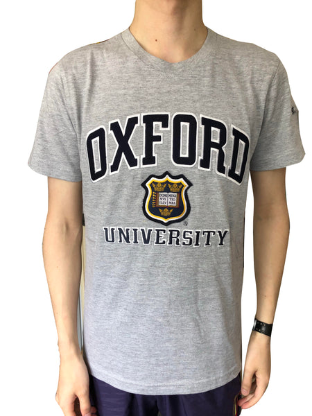 Oxford University Embroidered Applique T-shirt - official apparel of this famous Institution