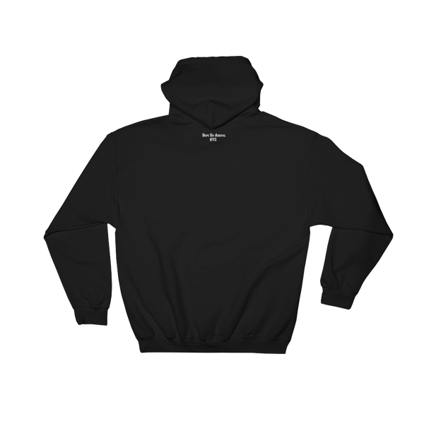 Black.No Sugar No Cream ® Unisex Hoodie Black