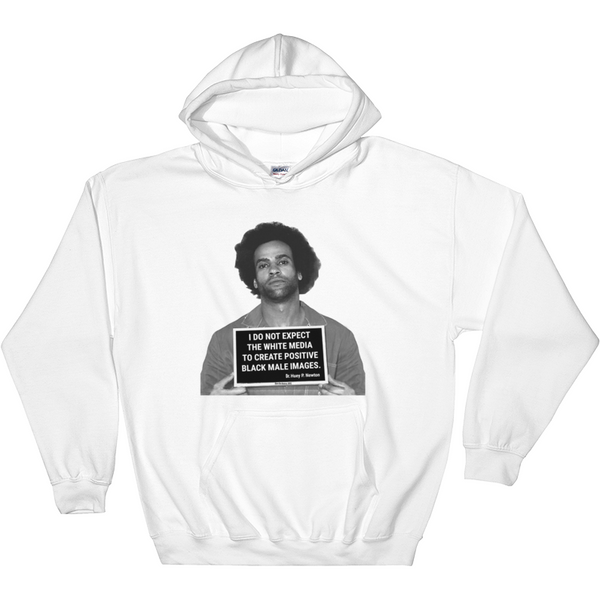 Huey Facts Unisex White Hoodie