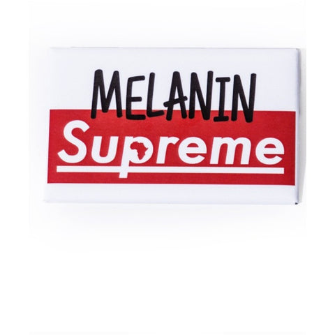 Melanin Supreme Button