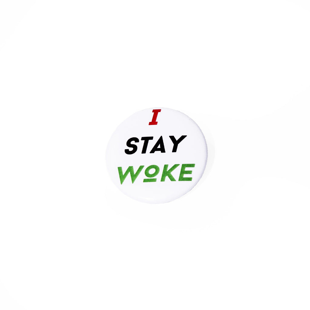 RBG I Stay Woke Button