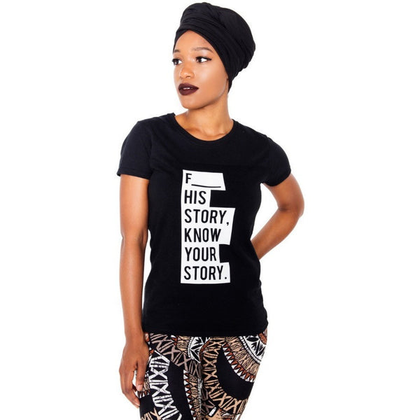 Know Your Story women's T-Shirt