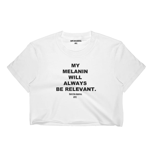 Melanin Relevant Crop Top