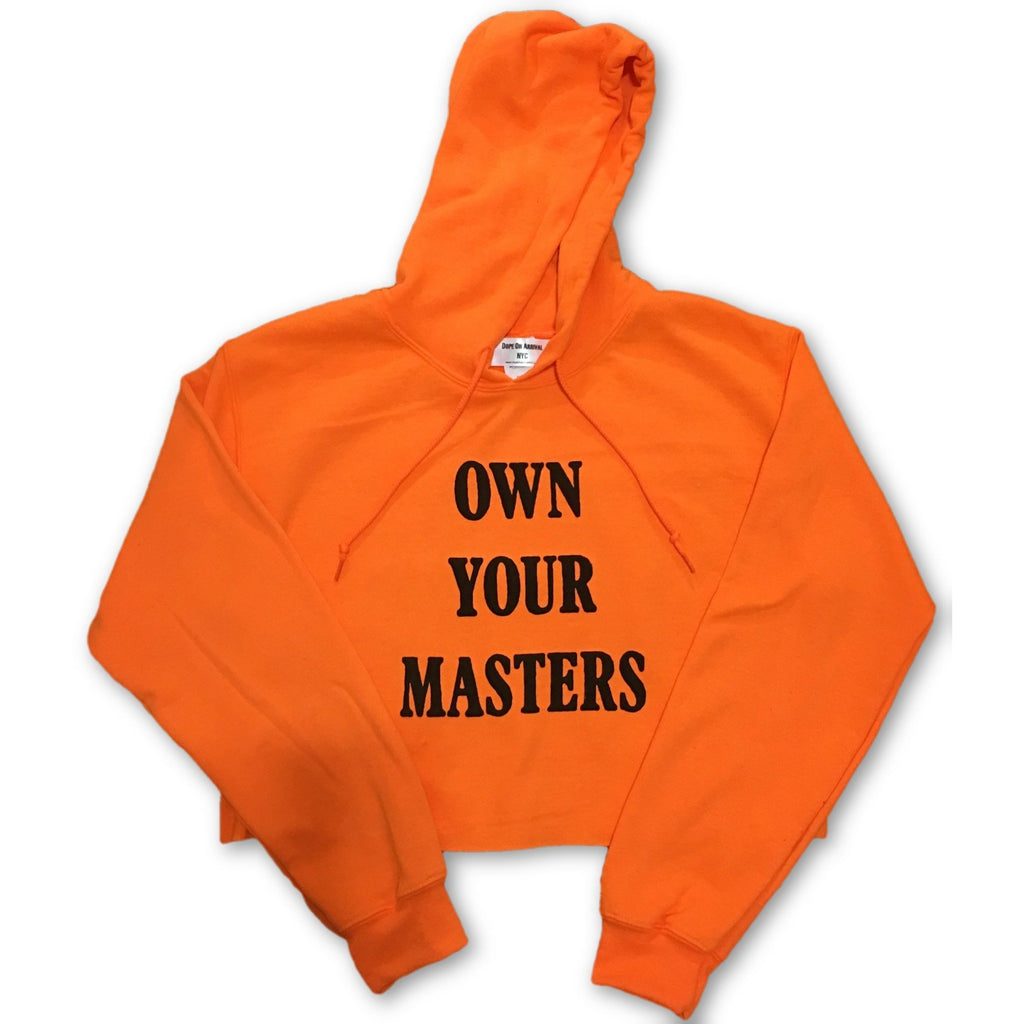 Own Your Masters Crop Hoodie