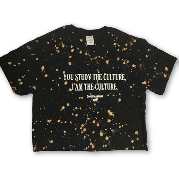 I AM The Culture Crop Tee