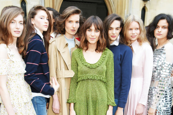Alexa Chung Launches New Collection