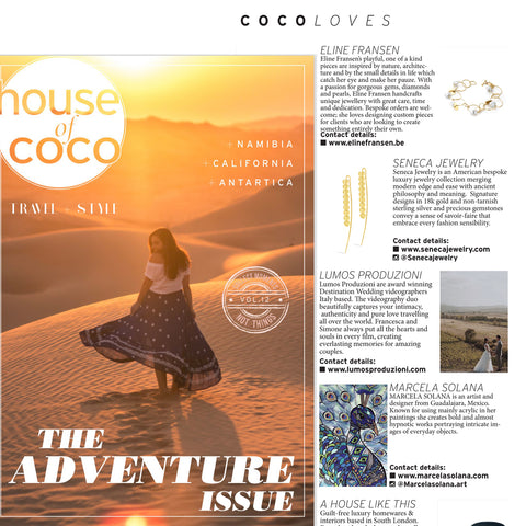 Coco Loves page features new and interesting brands for millineal shoppers