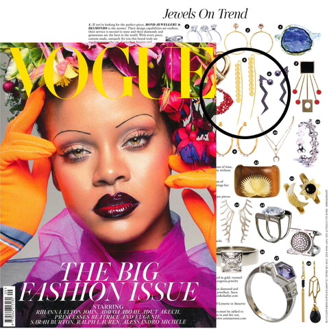 Seneca Jewelry As Seen In September Issue Of British Vogue Jewels On Trend