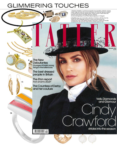 September Issue Of Tatler Magazine | Glimmering Touches