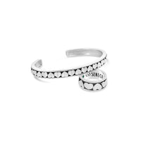 sterling silver sweetheart eternity ring and matching heart cuff bracelet