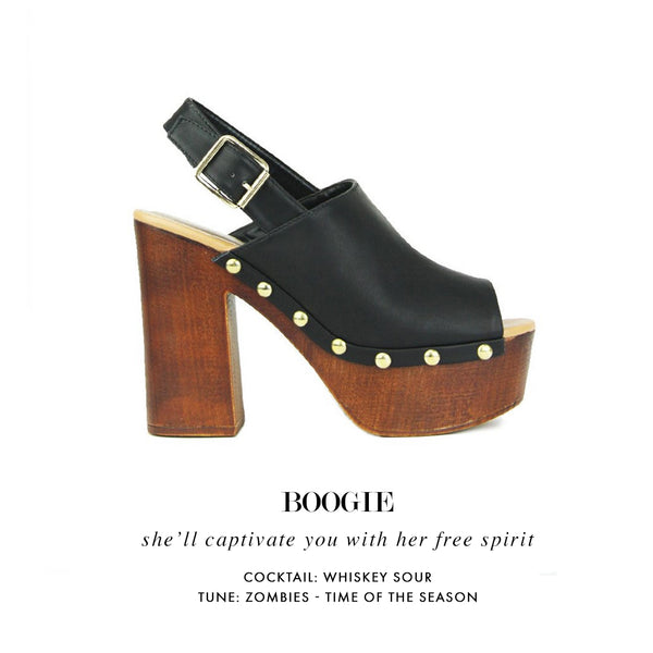 Boogie | Clog Heels | Two Two Shoes
