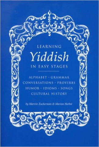 Learning Yiddish in Easy Stages  BOOK  by Zuckerman, Marvin and Herbst