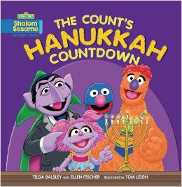 The Count's Hanukkah Countdown by Fischer Ellen