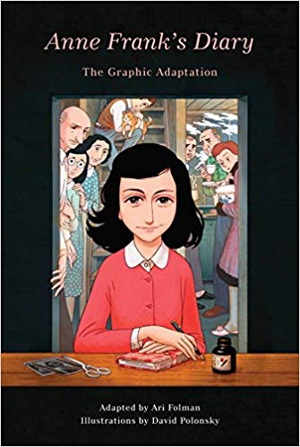 Anne Frank's Diary: The Graphic Adaptation, Adapted by Ari Folman