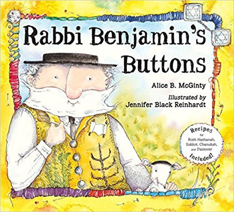 Rabbi Benjamin's Buttons by Alice McGinty