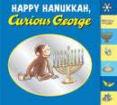 Happy Hanukkah, Curious George by Emily Flaschner Meyer