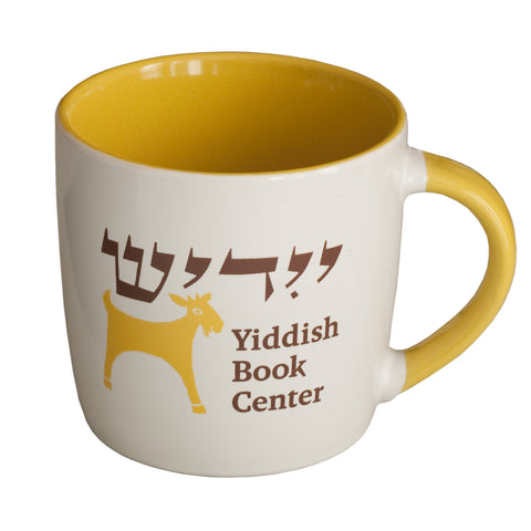Yiddish Book Center Goat Mug