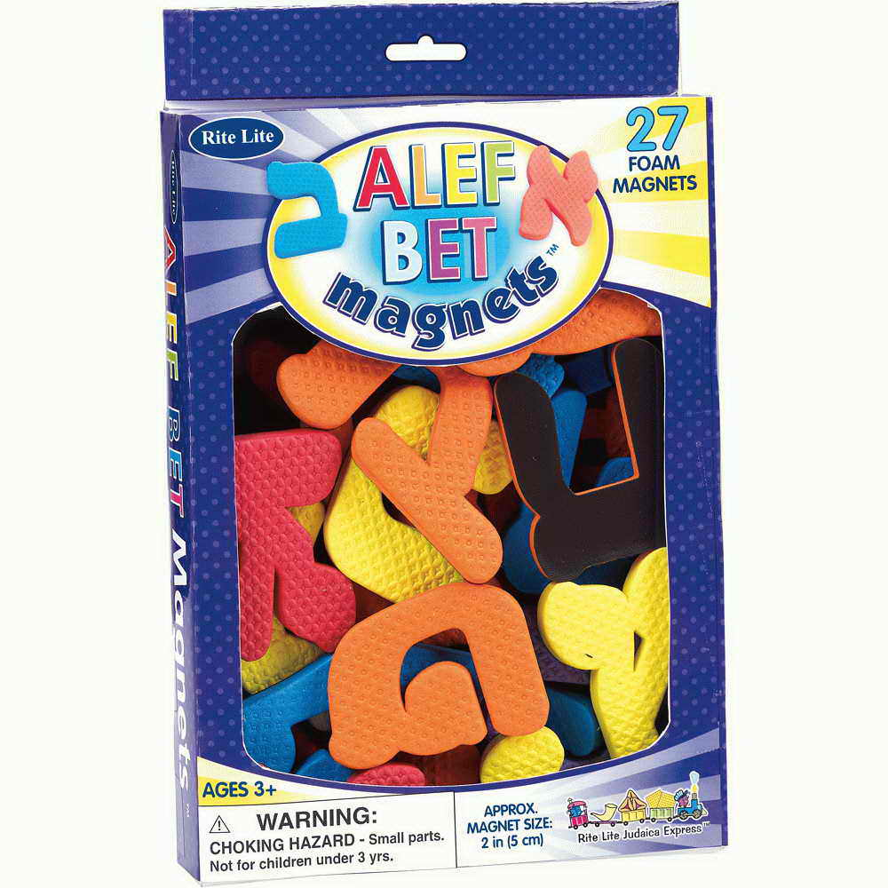 Alef-beys Foam Magnets