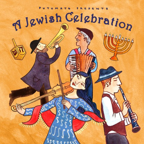 A Jewish Celebration Audio CD by Putumayo World Music