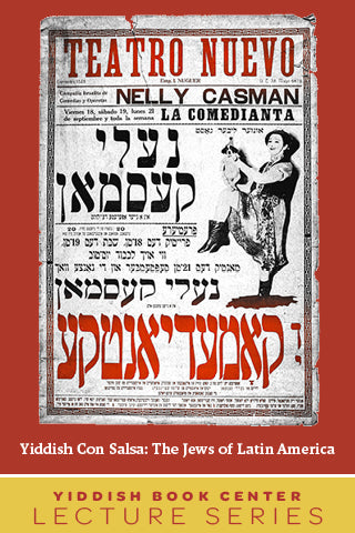 "Lecture Series: ""Yiddish con Salsa: The Jews of Latin America"" with Professor Ilan Stavans"