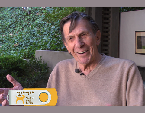 Leonard Nimoy: Yiddish Roots (USB flash drive)