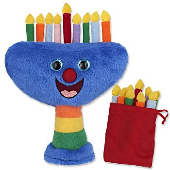 Plush Musical Menorah for Kids