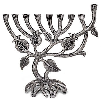 Pomegranate Tree Menorah