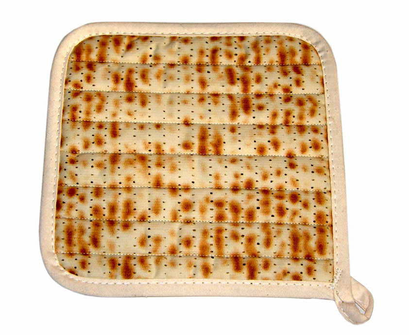 Matzah Designed Pot Holder
