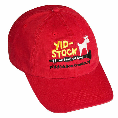 A Red Yidstock Cap