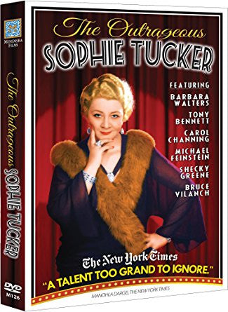 The Outrageous Sophie Tucker DVD