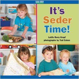 It's Seder Time! by Latifa Berry Kropf