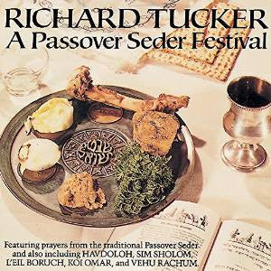 A Passover Seder Festival with Richard Tucker Audio CD